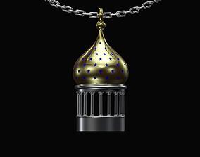 3D print model Onion dome pendant