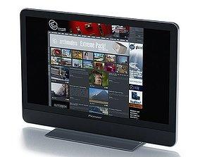 3D model Tv Black Pioneer