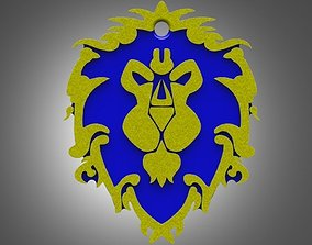 3D printable model World Of Warcraft Alliance Tag