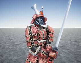 Samurai Ancient Great Warrior 3D model