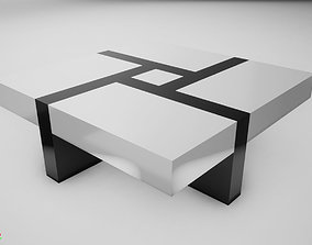 3D model VR / AR ready Modern Table cool