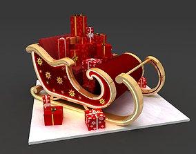 3D Santa Claus Sleigh