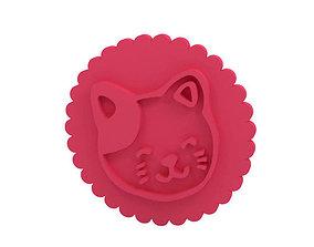 3D print model Cookie stamp - Stamp