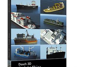 Dosch 3D - Freight Ships feeder