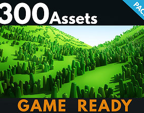 Grass Toon 3D model