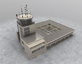 LYTV Control Tower 3D model