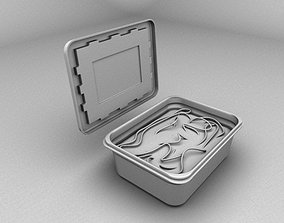 Tiffin box 3D