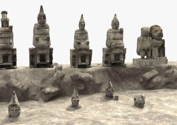 Nemrut mountain kommagene kings