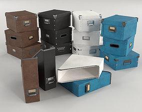 Storage Boxes 3D