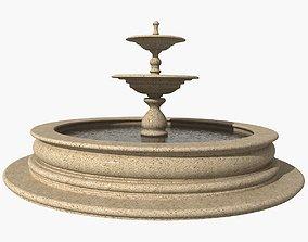 3D Granite fountain 2