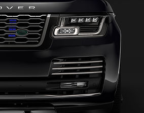 Range Rover Sentinel L405 2018 3D model