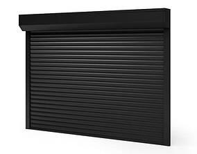3D Black Window Shade