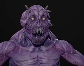 Ghoul Berserk 3D asset rigged