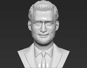 Prince Harry bust 3D printing ready stl obj formats