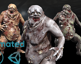 3D asset Fat mutant