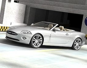 3D Jaguar xk 2007 cabrio