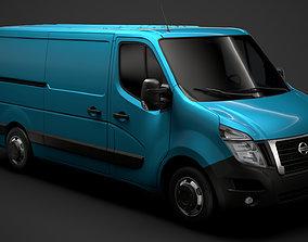 3D model Nissan NV 400 L2H1 Van 2020