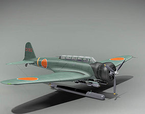 Nakajima B5N1 Kate Japan 1937 3D