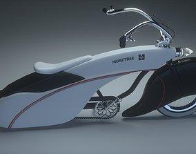 3D model Bike Bagger Style