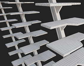 Stairs Yacht 3D model