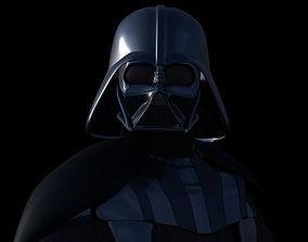 Darth Vader 3D model rigged