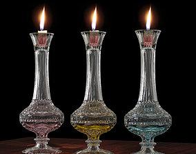 Candel hoder Crystal glass antique 3D printable model