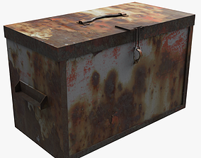 3D asset Ammo box - SCP-902