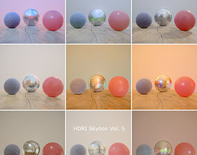 3D asset HDRi Vol 5 Skybox Collection