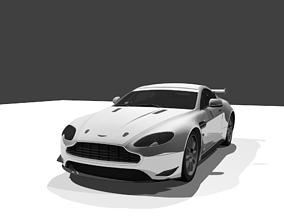 Aston Martin Vantage GT4 3D model