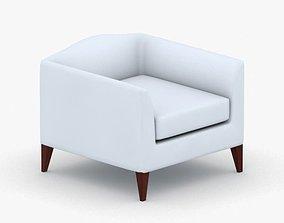 3D asset 0311 - Armchair