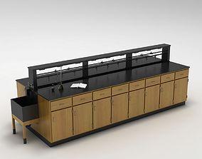 Laboratory Table 01 3D