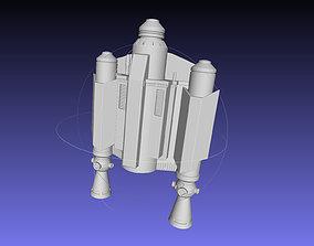 3D printable model Star Wars The Mandalorian Rising 1