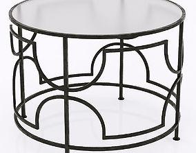 Cyan Designs Edged Rhombus Table 3D