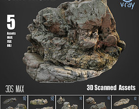 Cliff pack A Bundle 3D asset realtime