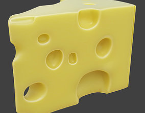 PBR 3D Cheese
