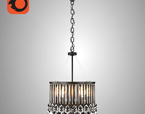 MIDLIGHT VERONA CRYSTAL CHANDELIER 3D