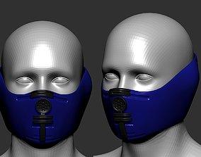 gas mask sculpt 3D model