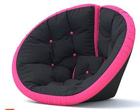 comfort Soft chair 3D