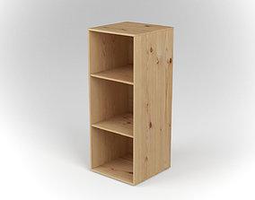 3D model Mini Bookcase