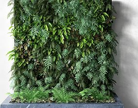 Vertical Garden 1 leaf 3D model