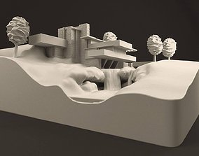 Fallingwater House - 3D Printable