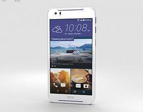 cellular 3D model HTC Desire 830 White-Blue