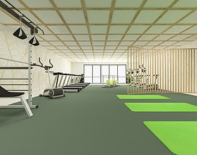 3D model physiotheraphy gym