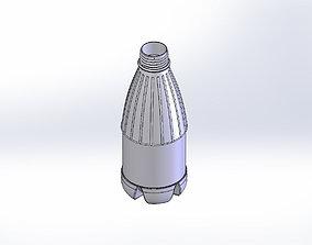 Bottle for mold tutorial 3D model