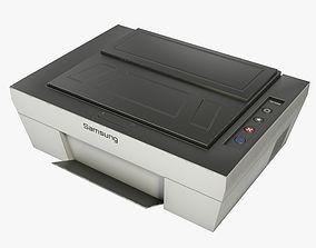 3D asset Printer - Low Poly