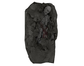 3D model Corpse 04