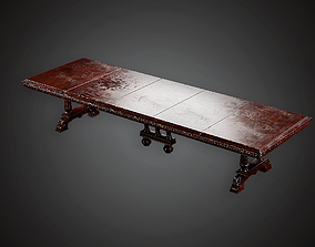 3D asset Table - MVL - PBR Game Ready