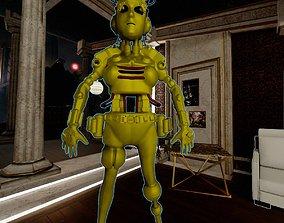 Female Cyborg 3D model