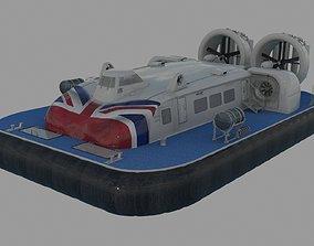 Hovercraft Griffon 12000TD 3D model