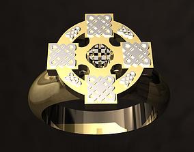 religiou-object 3D printable model Celtic Ring